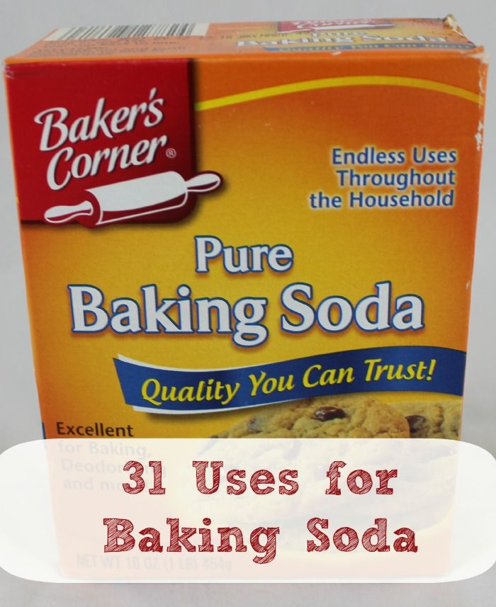 12 best images about baking soda on pinterest washers stains and uses for baking soda - Things never clean baking soda ...
