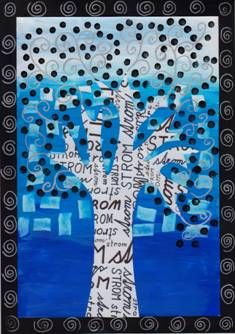 Strom a písmo