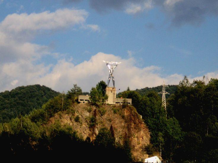 Aaaand the statue on the mountain peak ;)