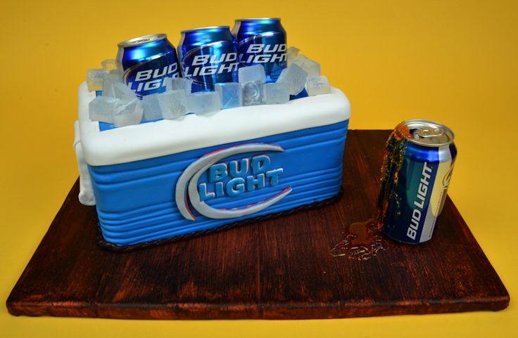 Beer Cooler Cake tutorial
