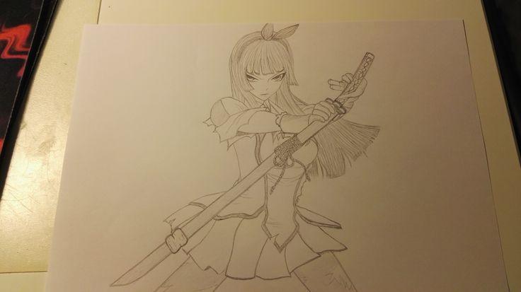 Kagura from Fairy tail