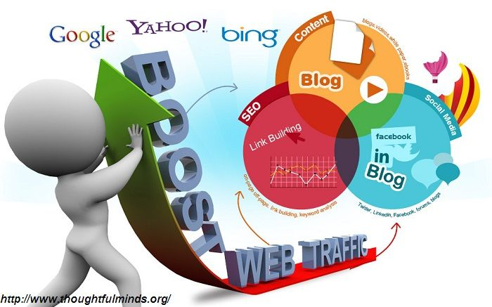 Increase more traffic on your website through #Bestdigitalmarketingservice providers.