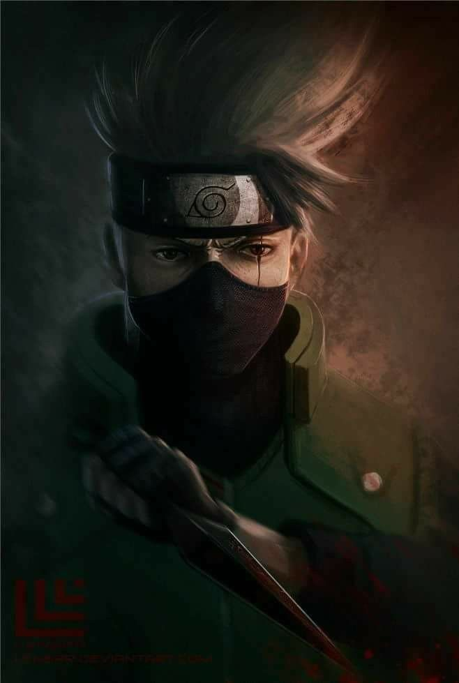 Kakashi Hatake Wallpaper ♥♥♥ #Sharingan