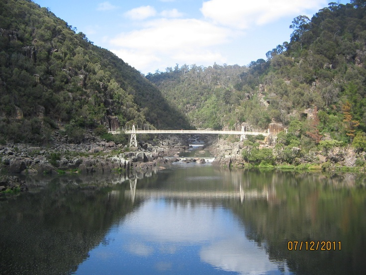 Views from the chairlift at Cataract Gorge - Launceston