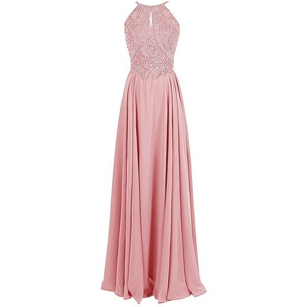 Dressystar Sparkling Straps Formal Gowns Beading Prom Evening Dresses... ($20) ❤ liked on Polyvore featuring dresses, formal dresses, red formal dresses, strappy dress, backless formal dresses and backless dresses