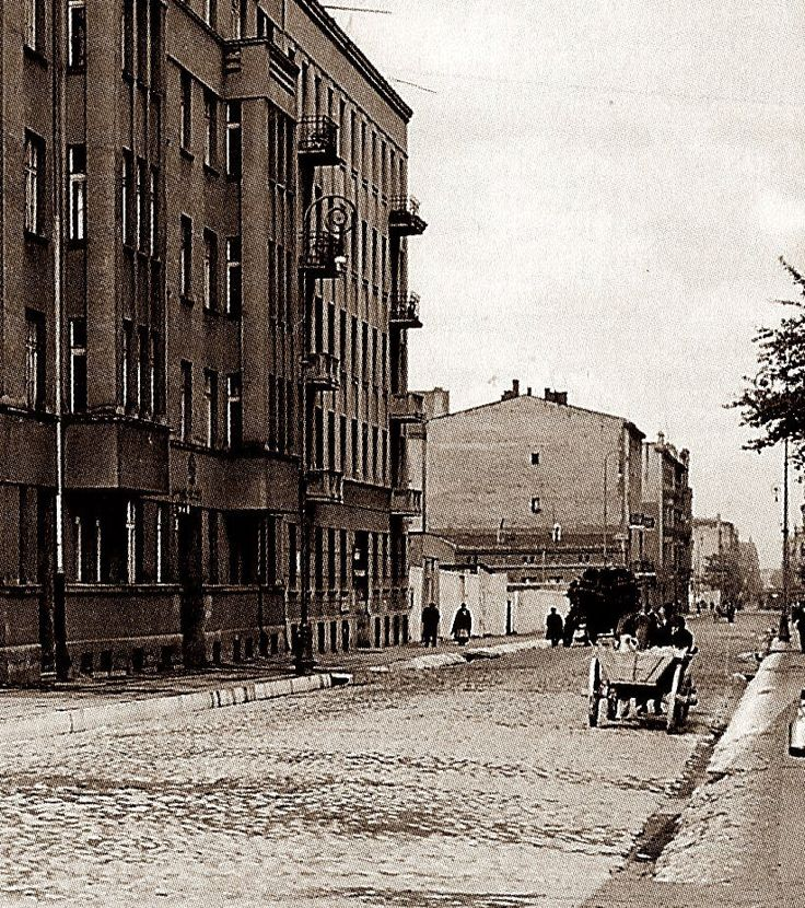 Jaracza Str. near Uniwersytecka Str., Lodz, Poland