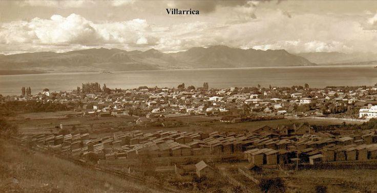 Vista Parcial ciudad de Villarrica