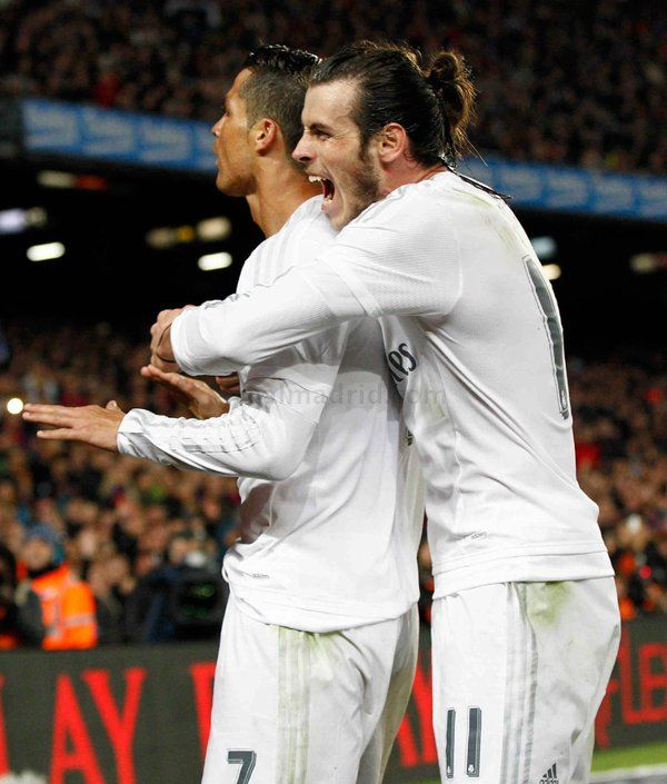 Cristiano Ronaldo & Gareth Bale calma Barcelona vs Real Madrid - el clasico