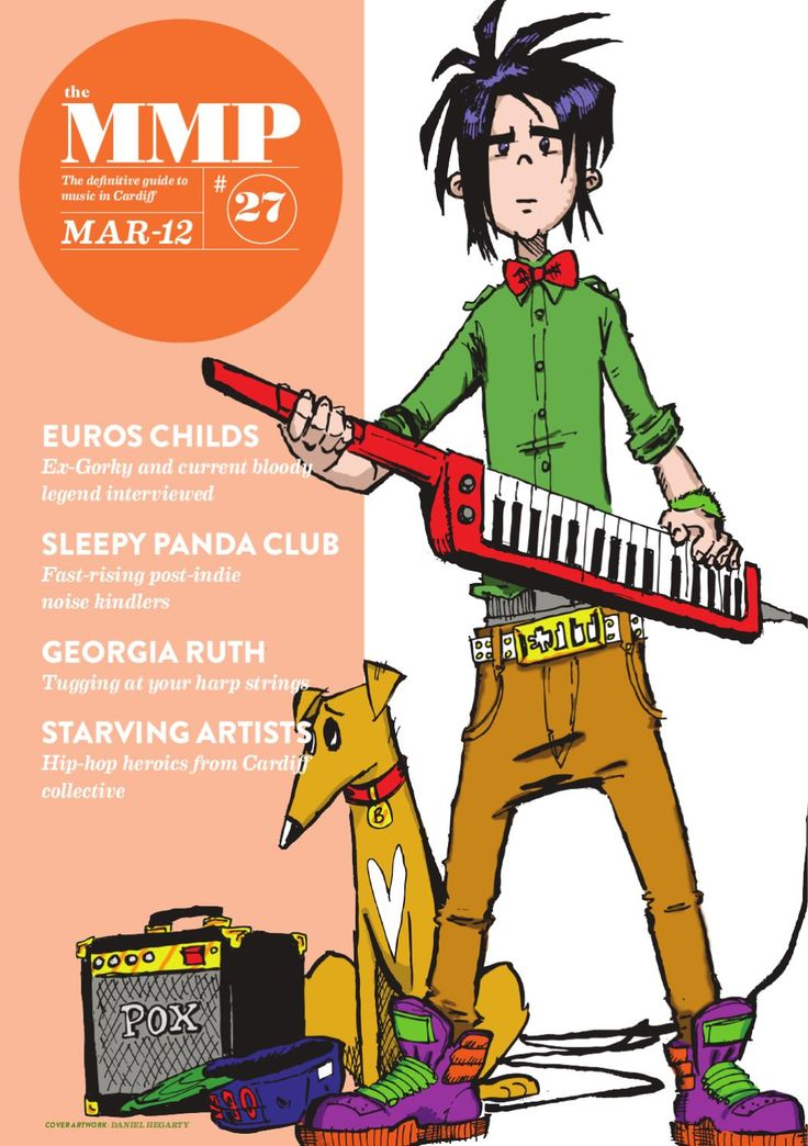 Miniature Music Press March 2012 edition  Featuring Euros Childs, Sleepy Panda…