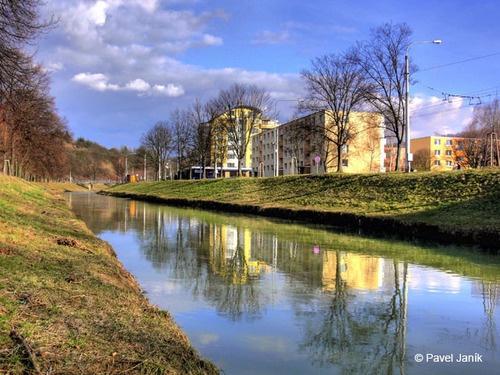 #dřevnice river #zlín