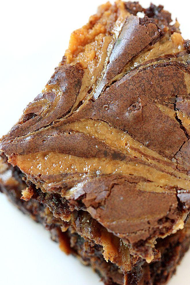 Totally decadent! Dulce de Leche Brownies