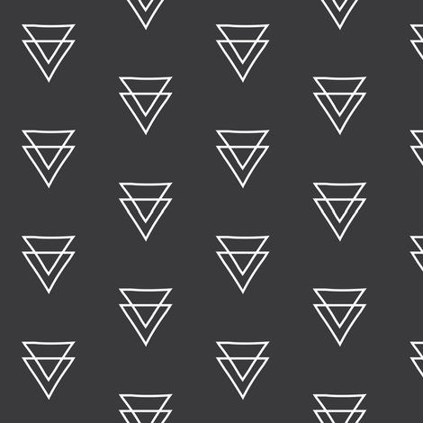 Double Triangle Wallpaper