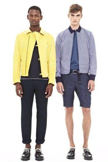 How to wear men's fashion trend: Bermuda   DKNY SPRING 2014    #FASHIONTREND; #MEN #SPRING2014 #BERMUDA; #SHIRT; #WHITE; #RUNWAY; #FASHIONWEEK; #FASHION; #FASHIONBLOG; #BLOGGER; #FASHIONBLOGGER; #MEN; #MENFASHION; #STYLE
