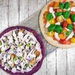 Gezonde pizzabodems van bieten en bloemkool bij AH