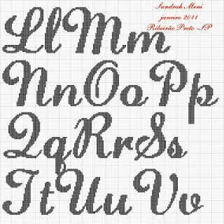 Monograma Cursivo