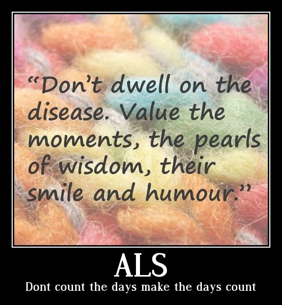 Don't count the days make the days count. Someone told me this early in his disease and  it makes so much sense