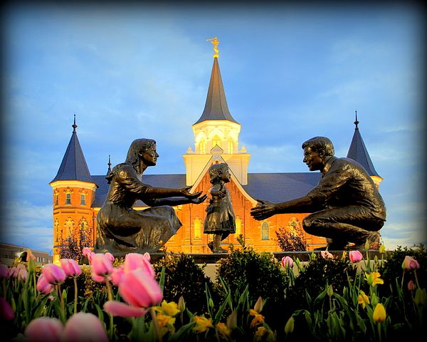 Provo City Center Lds Temple Photograph by Nathan Abbott