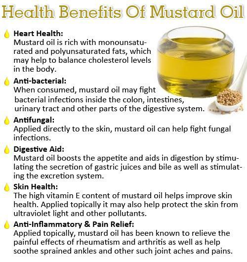 Proven Benefits of Mustard Oil for Hair and Skin                                                                                                                                                                                 More