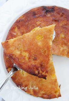 COOKING JULIA: MOELLEUX AUX MIRABELLES ET MASCARPONE (Avec Maïzena, donc sans gluten)