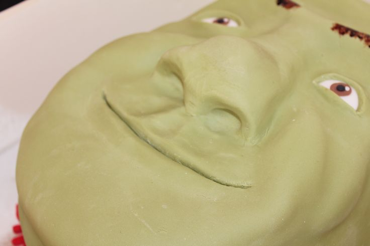 Shrek Cake by The Vanilla Store To request a quote please email us at info@thevanillastore.com.au