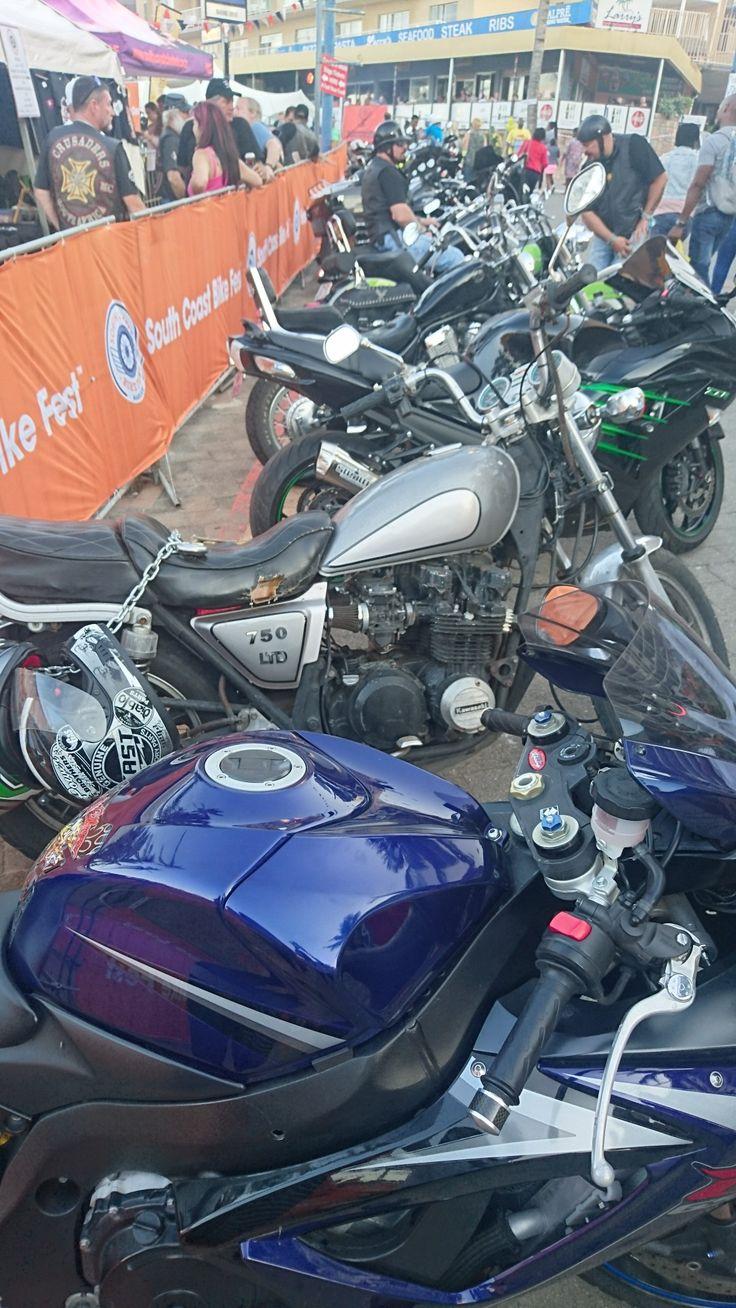 Bike fest, Margate South Africa