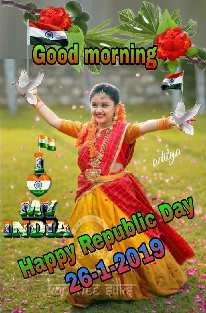 Gif good morning happy republic day