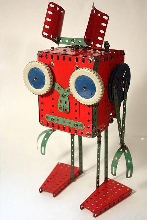 Meccano Martian, from a manual of the 1970's