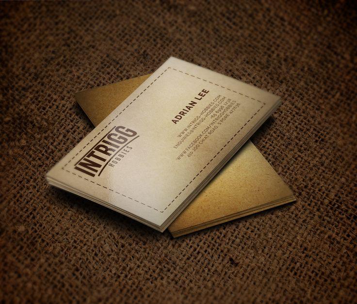 Logo Design & Business Card Design for Intrigg Hobbies
