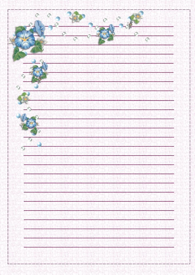 69 best Printable Letter Writing Papers images on Pinterest