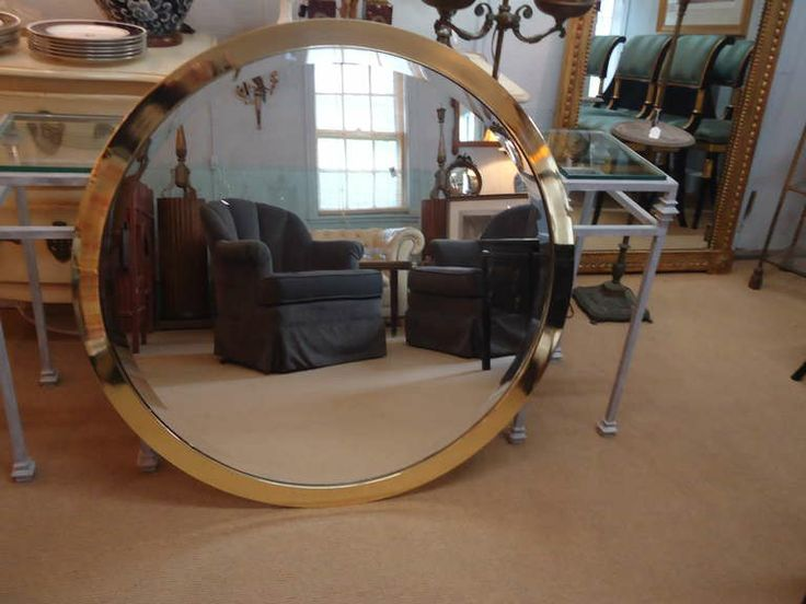 Firebrandcattery Creating Oversized Wall Mirrors: 17 Best Ideas About Large Round Wall Mirror On Pinterest