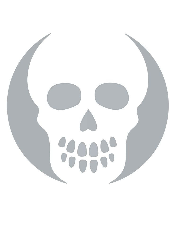Best ideas about skull stencil on pinterest