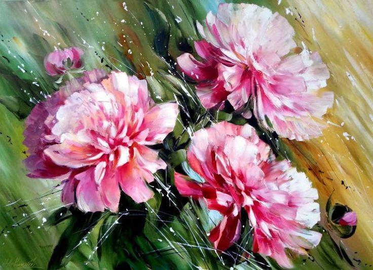 Прекрасные цветы Надежды Левицкой. Обсуждение на LiveInternet - Российский Сервис Онлайн-Дневников