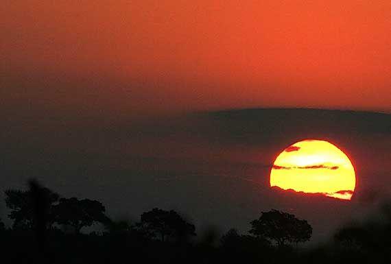 Sunset - Kruger National Park, South Africa