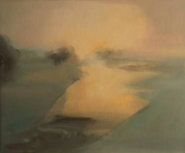 "Saatchi Art Artist Marta Zamarska; Painting, ""Winter Impression 3 (exhibition)"" #art"