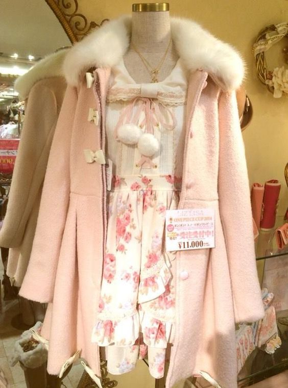 kawaii outfit for winter - Google Search