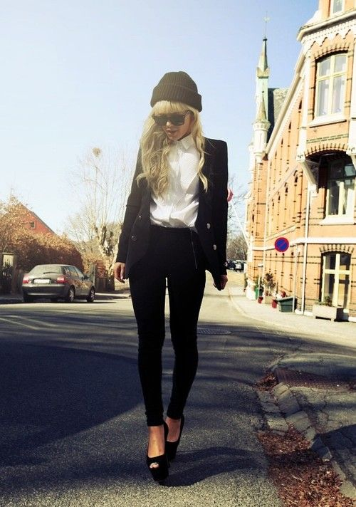 Ulrikke Lund, street style. - http://www.jfashion.co.uk/jfashion/blog/fashion-trends/ulrikke-lund-street-style/