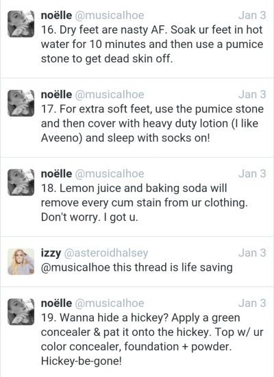Tips for the hoe life. - Imgur