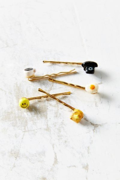 Venessa Arizaga Brunch Time Bobby Hair Pin Set - Urban Outfitters
