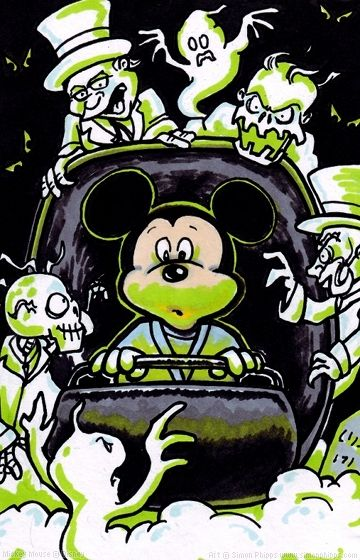 Haunted Mansion Mickey