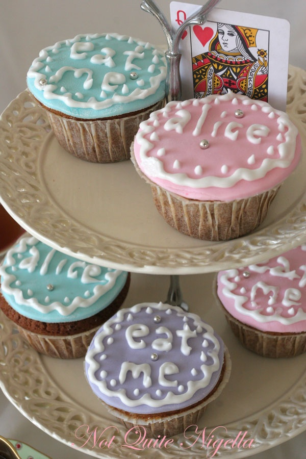 Mad Hatter's Tea Party Cupcakes
