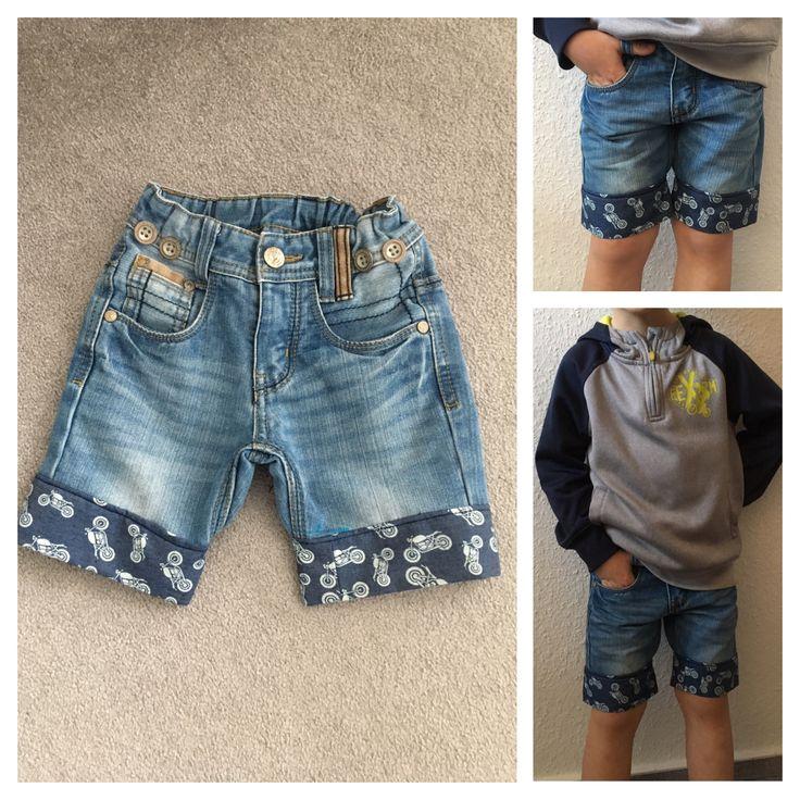 Wer kennt es nicht, die Knie sind durchgescheuert aber die Hose sitzt noch super! Dann näh ich eine Sommershorts!!!!