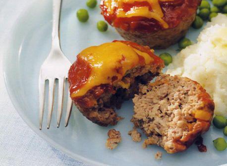 Mini pains de viande Recette