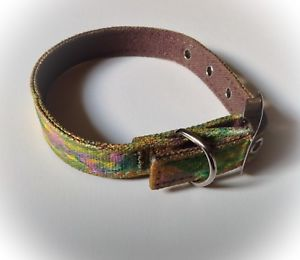 Designer Style dog collar. Artisan Hand-painted. Gorgeous Modern Look. Washable. | eBay
