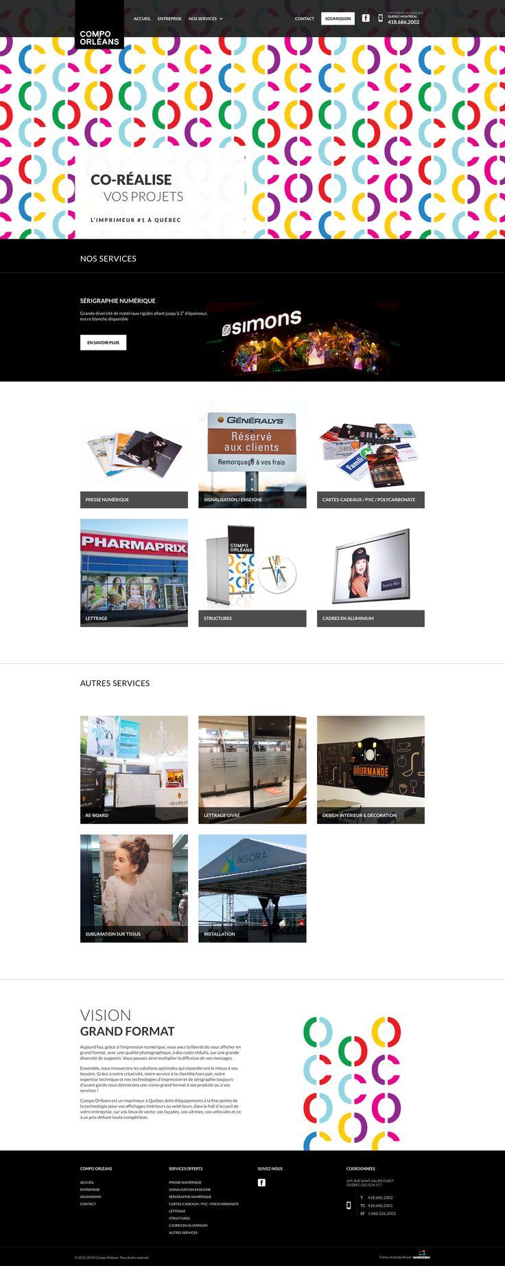 Nos Réalisations: Imprimeur, Presse,  Sérigraphie Numérique, Enseigne, Signalisation, Cartes-Cadeaux, Lettrage et plus! #webdesign #imprimerie