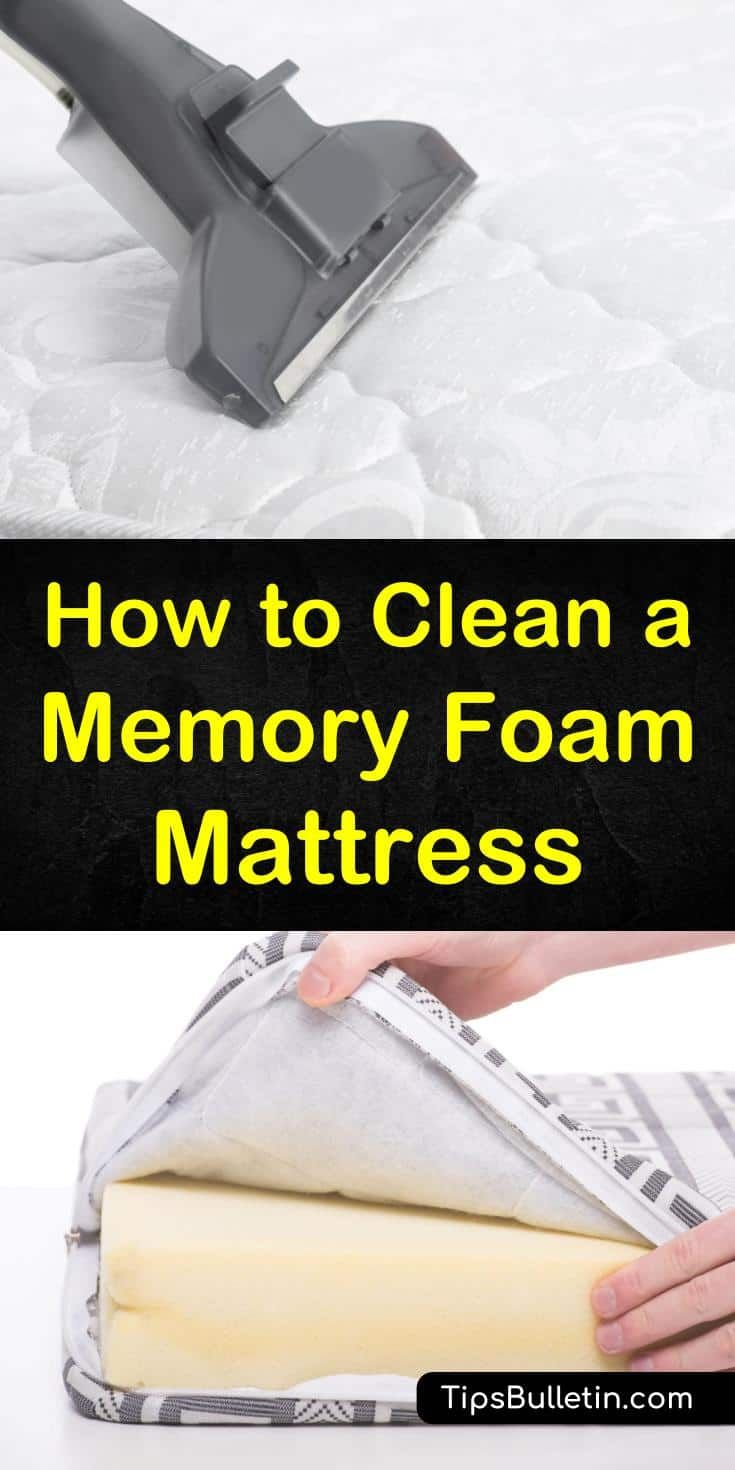To Get The Most Out Of Your New Memory Foam Mattress Topper Or Pad You Need To Rgeularly Clean And Maintai Memory Foam Mattress Foam Mattress Mattress Cleaning