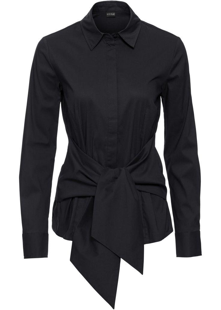Blouse zwart nu in de onlineshop van bonprix.nl vanaf ? 30.99 bestellen. Klassieke blouse in trendy wikkellook. Blikvanger! Lengte in mt. 38 ca. 62 cm.
