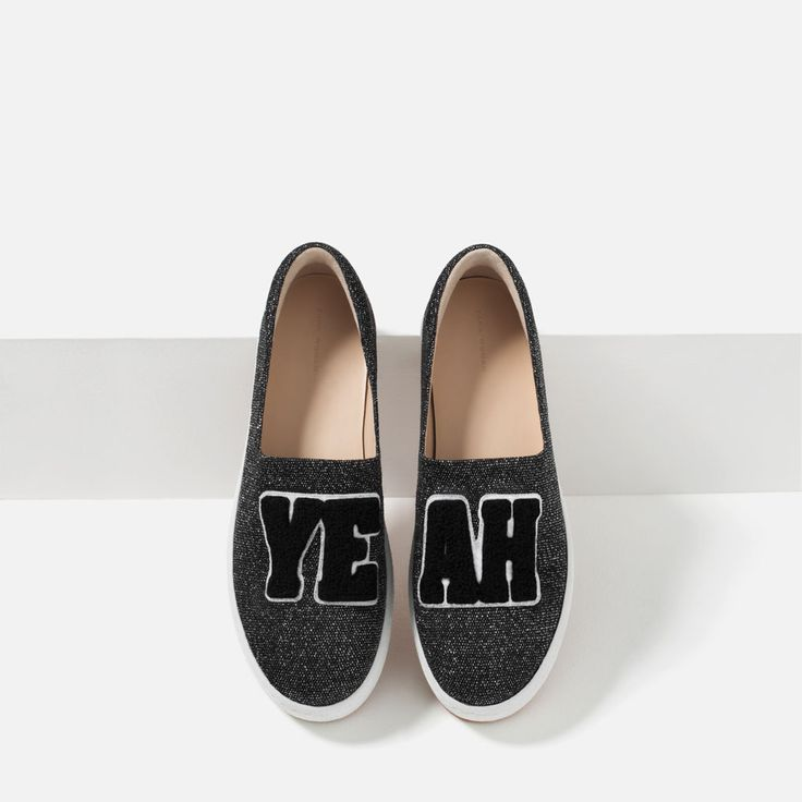 Image 6 of PATCH SNEAKERS from Zara