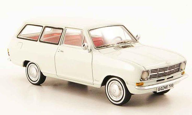 Opel Kadett B caravan white 1971 Neo diecast model car 1/43 - Buy/Sell Diecast car on Alldiecast.us