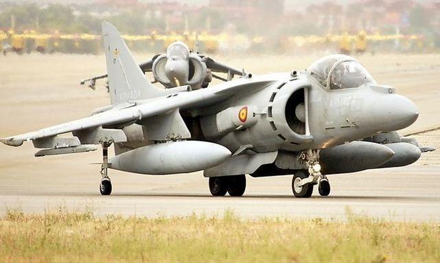 La Armada se quedará sin Harriers en 2020 (y no ha relevo a la vista)