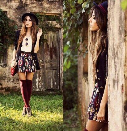 Indie fall fashion